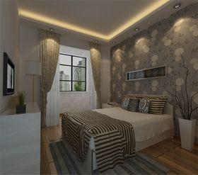 130平米现代简约风格卧室欣赏图