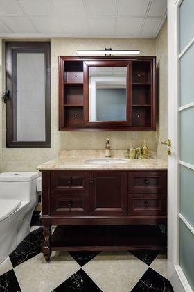 140平米别墅美式风格卫生间装修图片大全