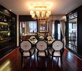 110平米三室一厅中式风格餐厅图片大全