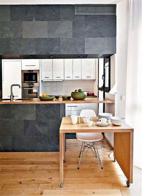 5-10万90平米北欧风格厨房装修效果图