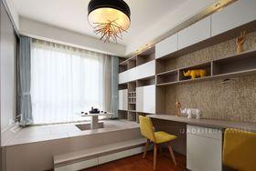 130平米三室两厅北欧风格书房设计图