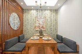 90平米三室两厅中式风格餐厅欣赏图