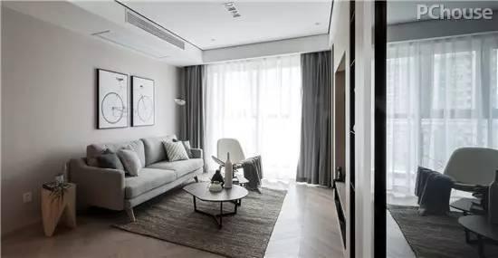 """走进""""辛勤园丁""""的家 时尚简约87平两居室设计"""