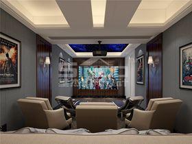 20万以上140平米别墅其他风格影音室装修图片大全