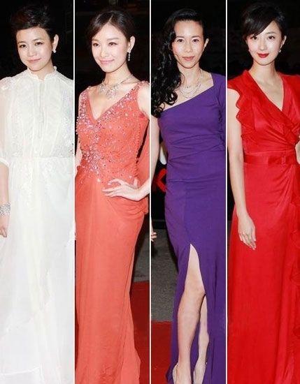亚洲电影节明星红毯婚宴礼服