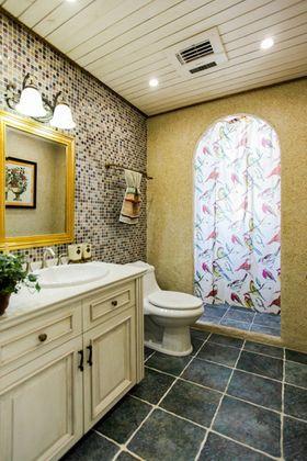 豪华型140平米四室两厅美式风格卫生间图片