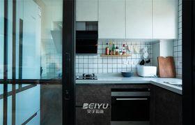 80平米混搭风格厨房图片大全