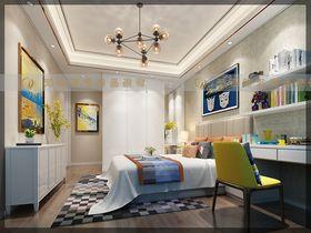 富裕型140平米别墅混搭风格儿童房装修图片大全