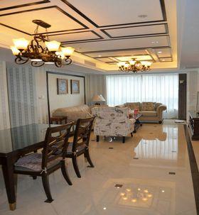 10-15万140平米三室两厅美式风格客厅图