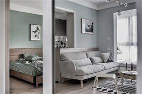 50平米北欧风格客厅设计图