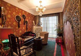 120平米四室两厅混搭风格阳光房图片大全