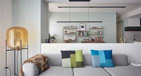 100平米三室一厅美式风格客厅设计图