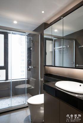 80平米中式风格卫生间装修效果图
