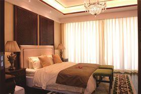 70平米三东南亚风格卧室装修效果图