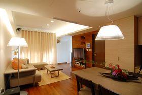 经济型140平米三室两厅现代简约风格客厅装修效果图