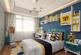5-10万120平米三室两厅现代简约风格卧室图片大全