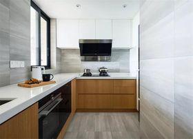 120平米三室一厅现代简约风格厨房装修图片大全