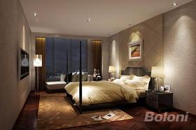 140平米別墅歐式風格臥室圖片
