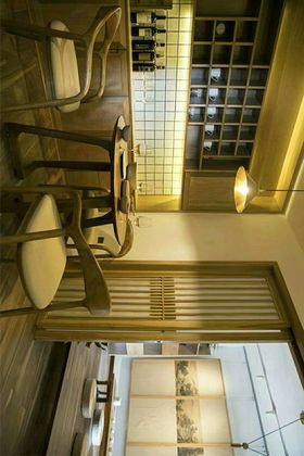 70平米日式風格餐廳裝修圖片大全
