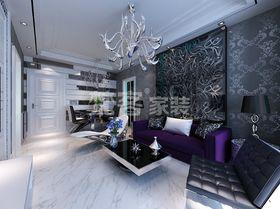 经济型50平米一室两厅现代简约风格客厅设计图