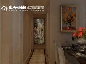经济型130平米三室两厅欧式风格走廊装修图片大全