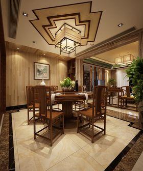 富裕型140平米四室两厅中式风格餐厅效果图