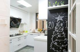 10-15万80平米三室一厅北欧风格厨房装修效果图
