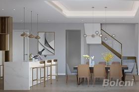 140平米別墅現代簡約風格餐廳裝修案例
