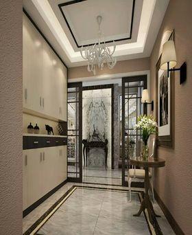 10-15万140平米三室一厅现代简约风格玄关设计图