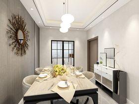 120平米四室两厅现代简约风格餐厅效果图