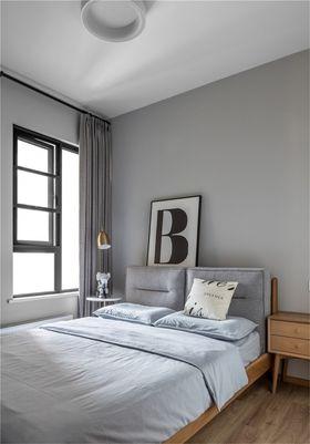 130平米四室两厅北欧风格卧室欣赏图