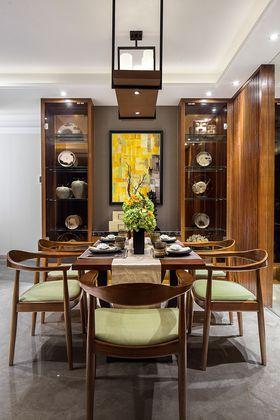 60平米三室兩廳中式風格餐廳圖片