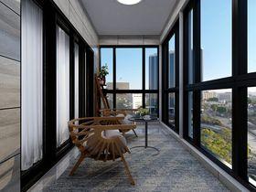 现代简约风格阳台装修效果图