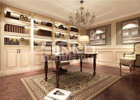20万以上140平米别墅欧式风格书房效果图