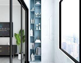 100平米三现代简约风格阳台图