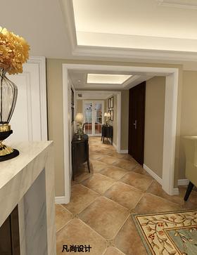 富裕型140平米复式美式风格走廊欣赏图