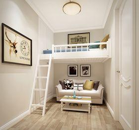 90平米三室两厅美式风格美式家具装修效果图