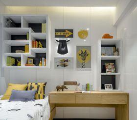 80平米三室两厅现代简约风格儿童房装修效果图