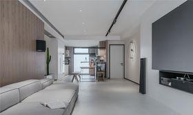 80平米現代簡約風格客廳圖