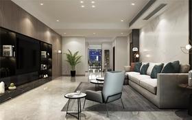 110平米现代简约风格卧室图