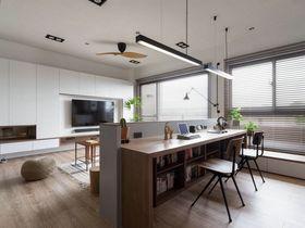 120平米三室两厅现代简约风格其他区域装修效果图