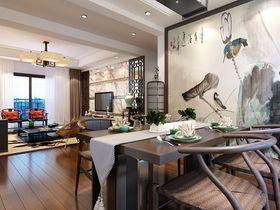 富裕型140平米三室两厅中式风格餐厅设计图