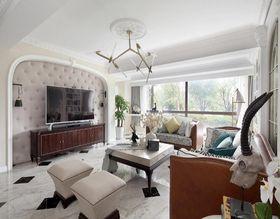 130平米四法式风格客厅装修图片大全