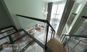 70平米三室两厅北欧风格阁楼设计图
