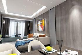 80平米三现代简约风格客厅装修图片大全