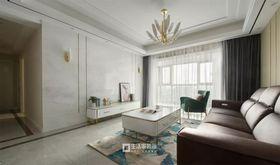 100平米四室两厅现代简约风格客厅图