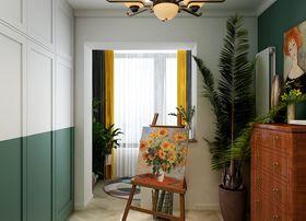120平米三室两厅混搭风格阳台图片