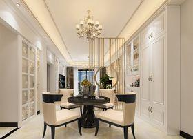 90平米三室两厅混搭风格餐厅装修图片大全