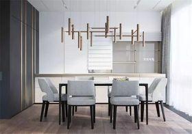 140平米別墅現代簡約風格餐廳圖片大全