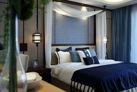 经济型50平米小户型中式风格卧室图片大全